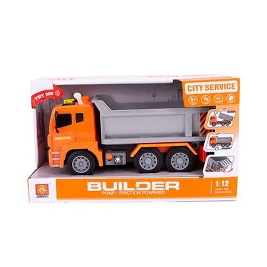 Vrachtwagen met Pomp B/O 30cm