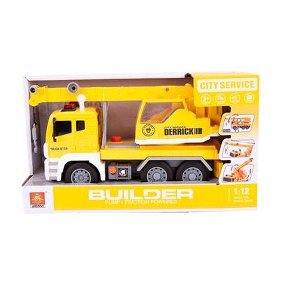 Takelwagen met Pomp B/O 30cm