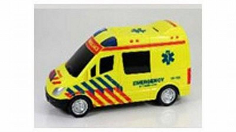 Auto Ambulance Met Licht En Geluid