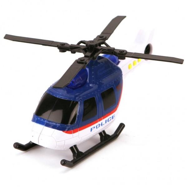 Helicopter Politie Met Licht En Geluid