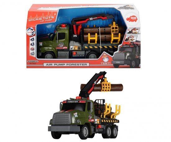 Vrachtwagen Bomen Pomp