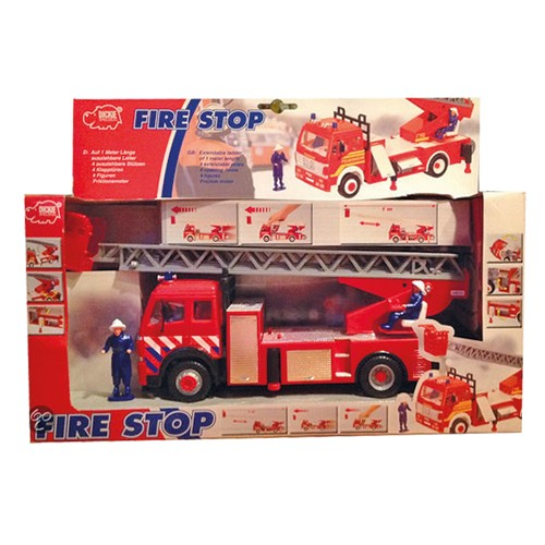 Brandweerwagen Dickie met spuit