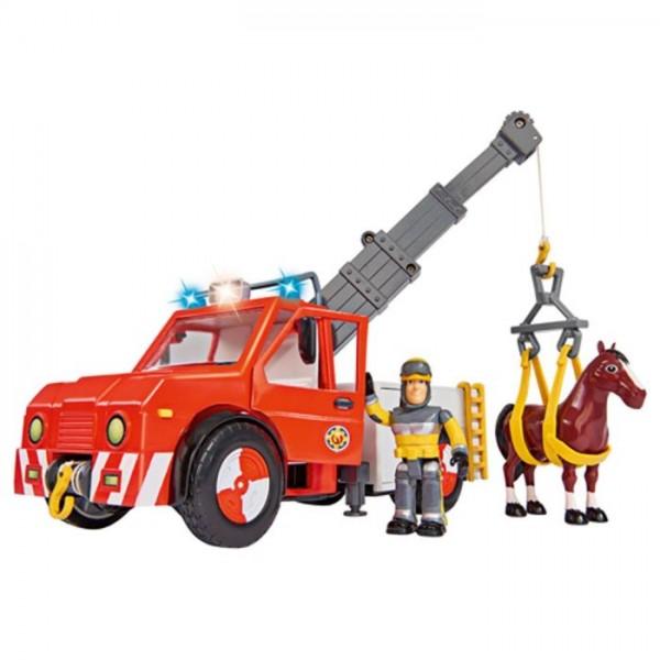 Brandweerman Sam Phoenix Met Paard B/O