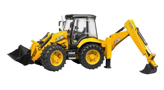 2454 Bruder Tractor JCB 5CX Eco Baggerlader