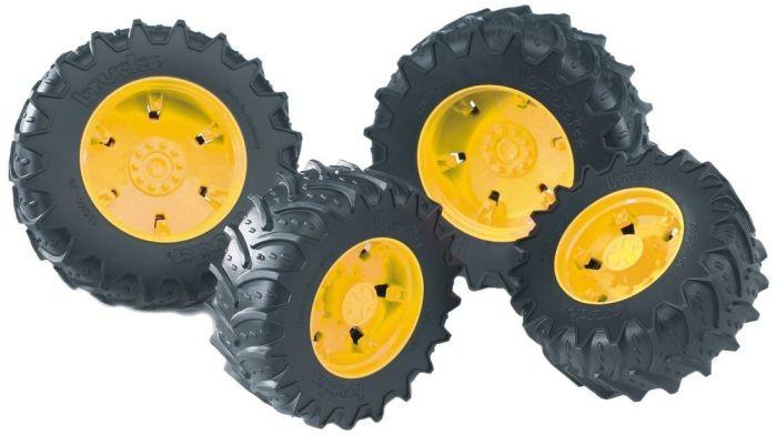 3314 Bruder Wielen geel