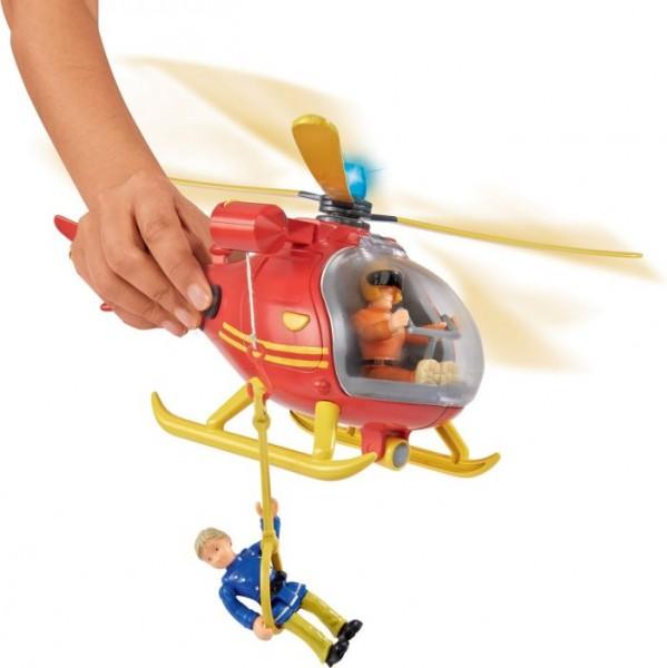 Brandweerman Sam Helicopter met Figuur
