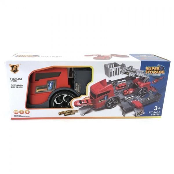 Brandweergarage in Truck