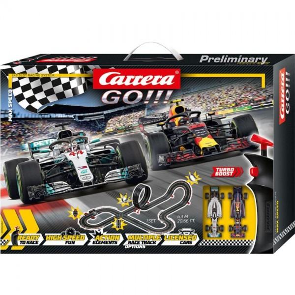 Carrera Racebaan GO Set Max Speed 630cm