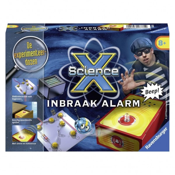 Ravensburger Science X Inbraak Alarm