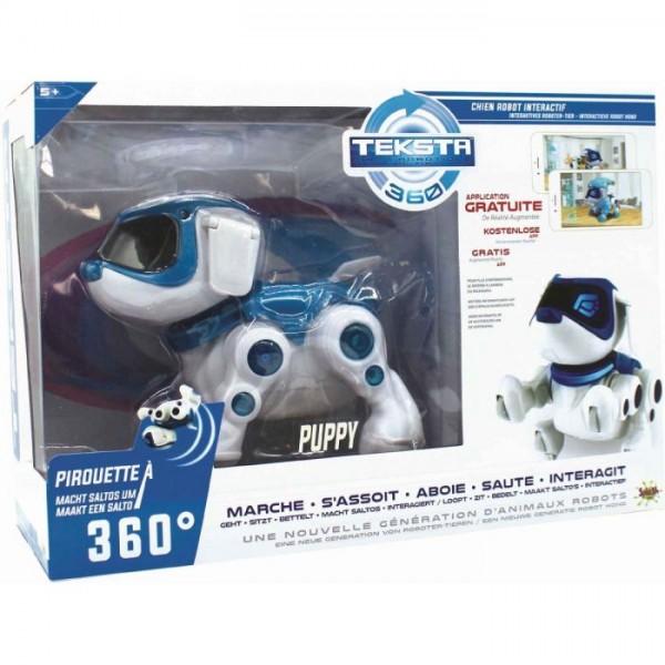 Robotpuppy Teksta 360 Met Licht En Geluid