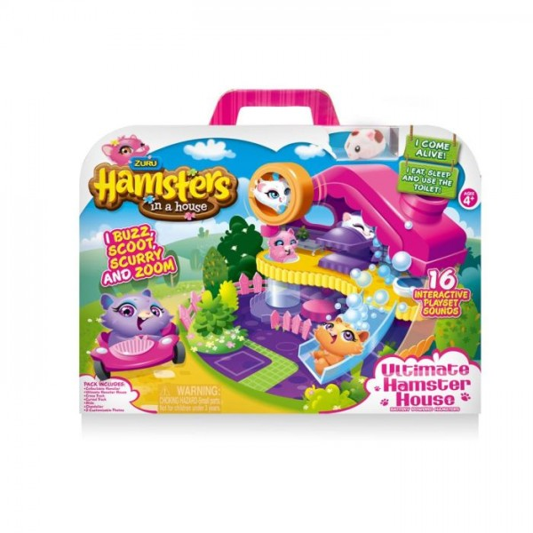 Hamsters in a House Ultimate Hamster House