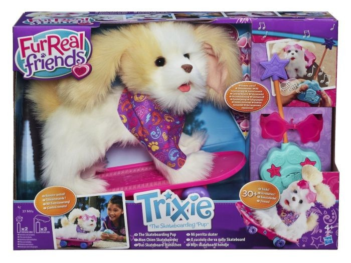 Fur Real Skateboard Puppie Trixie Fur real friends
