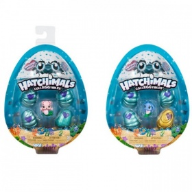 Hatchimals Colleggtibles 4-Pack met Bonus Season 5
