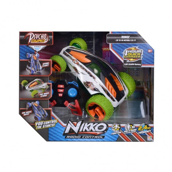 RC Nikko Auto Psycho Gyro Groen