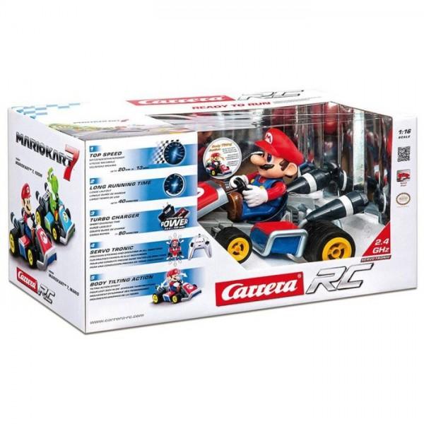 R/C Carrera Nintendo 1:16 Mario 7 Quad 2,4 Ghz