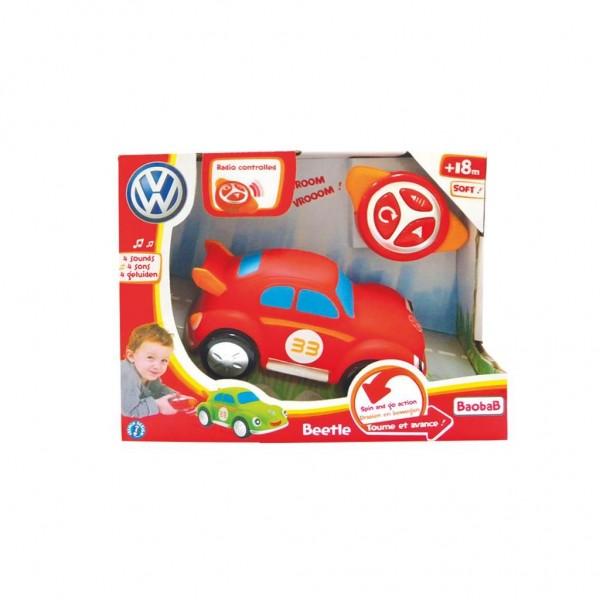Radiografisch Bestuurbare auto R/C Red Beetle