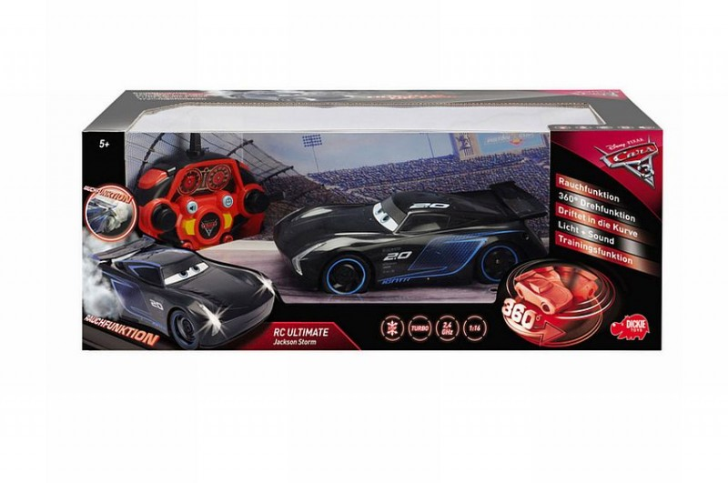 Rdiografische auto Cars R/C 3 Ultimate Jackson Storm
