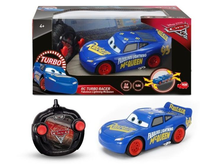 Cars 3 R/C Fabulous Lightning Mcqueen