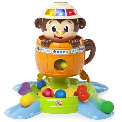 Hide'n Spin Monkey Bright Starts