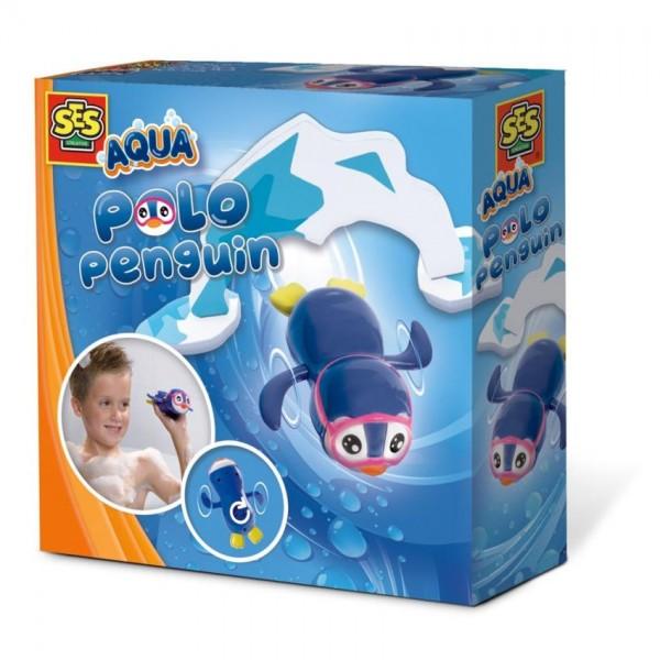 Ses Aqua Zwemmende Pinguïn
