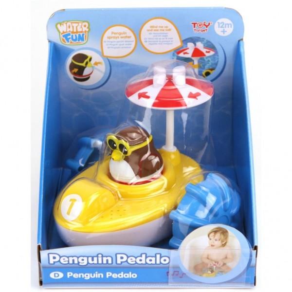 Badspeelgoed Waterfiets Met Pingun