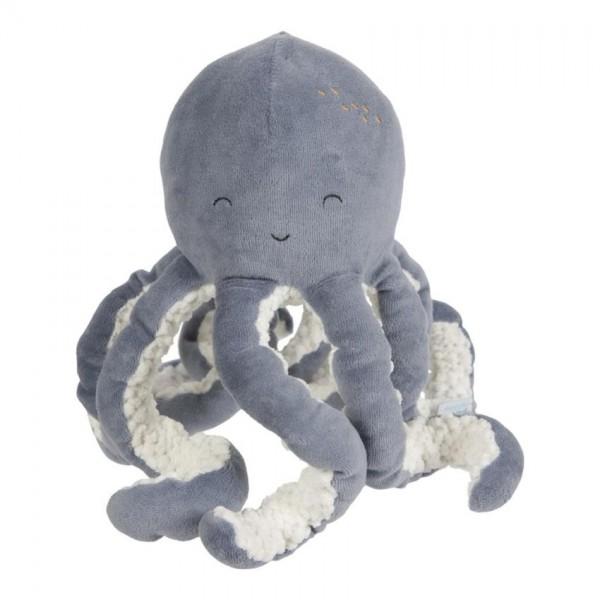 Little Dutch Knuffel Octopus Ocean Blue