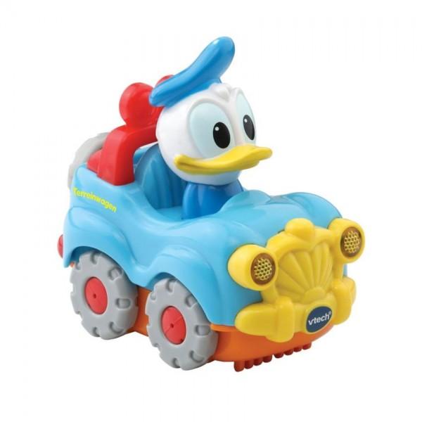 VTech Toet Toet auto: Donald Duck in auto lichtblauw