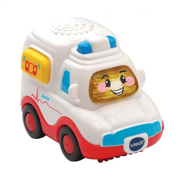 VTech Toet Toet auto: Amir Ambulance 13 cm wit