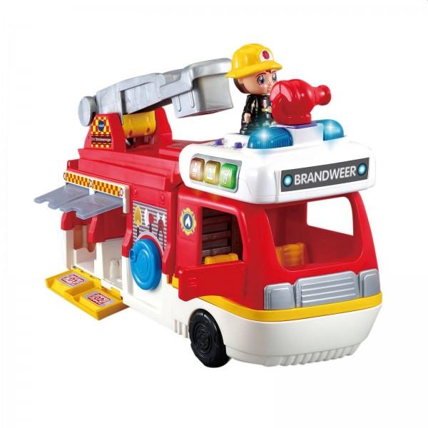 Vtech Vrolijke Vriendjes 2in1 Brandweerwagen