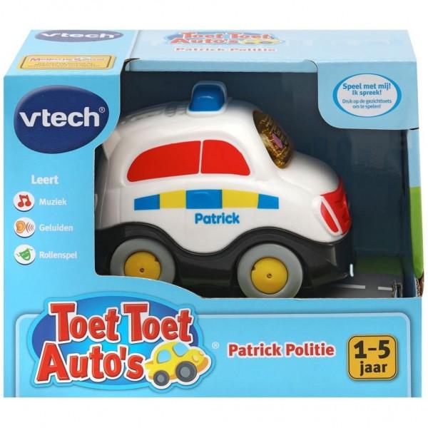 Vtech Toet Toet Auto S Patrick Politie