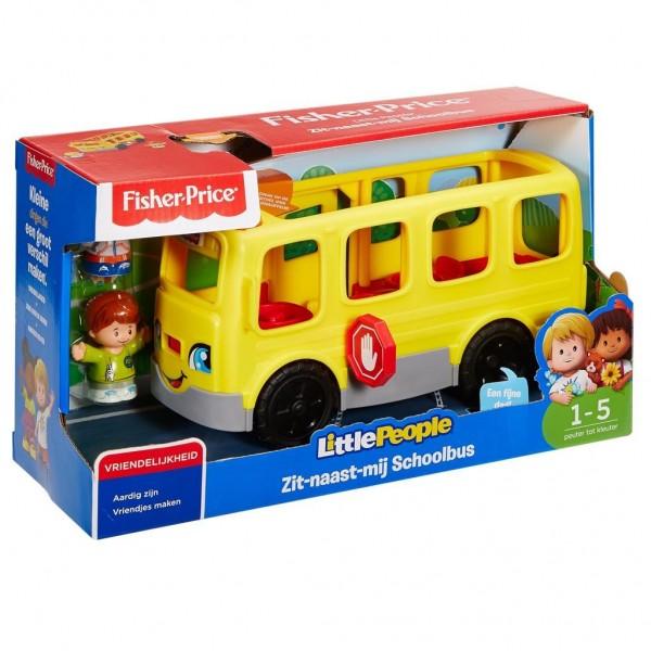 Fisher Price Little People Zit-Naast-Mij Schoolbus