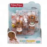 Fisher Price Little People Babies Deluxe Gear Tweeling