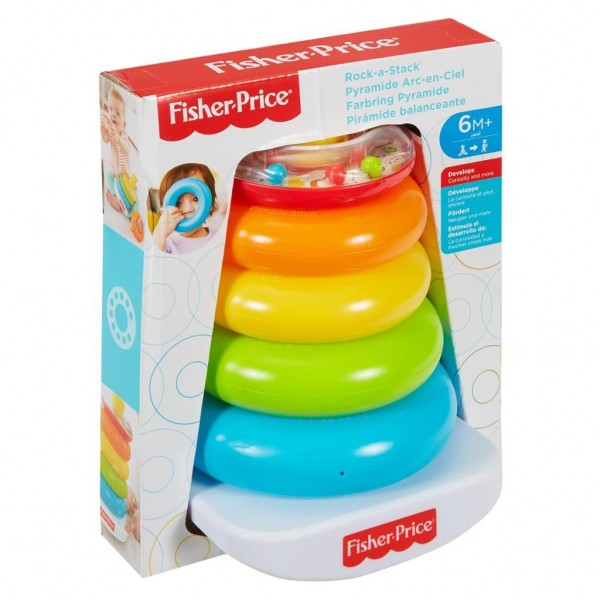 Fisher Price Kleurenringpiramide
