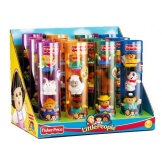 Fisher Price Little People figuren in koker