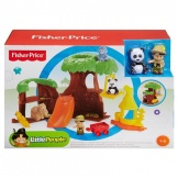 Fisher Price Little People Dieren Boomhuis