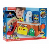 Fisher Price Little People Kleine garage met wasstraat