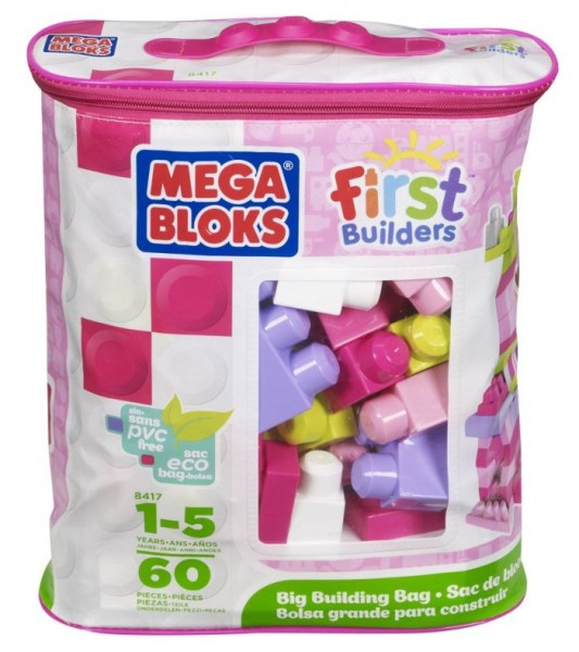 Mega Bloks Blokkenzak Roze