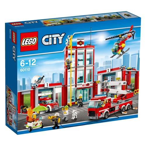 60110 Lego City Brandweerkazerne