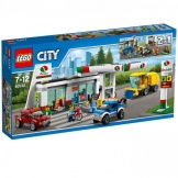 60132 Lego City Benzinestation