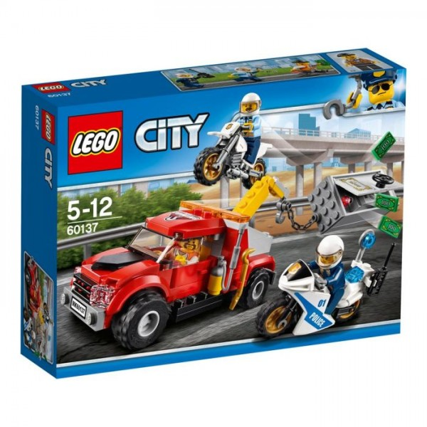 60137 Lego City - Sleeptruck Probleem