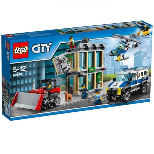 60140 Lego City - Bulldozer Inbraak