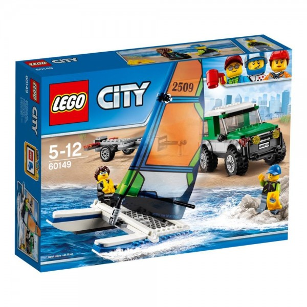 60149 Lego City 4x4 Met Catamaran