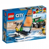 60149 Lego City 4x4 Met Catamara