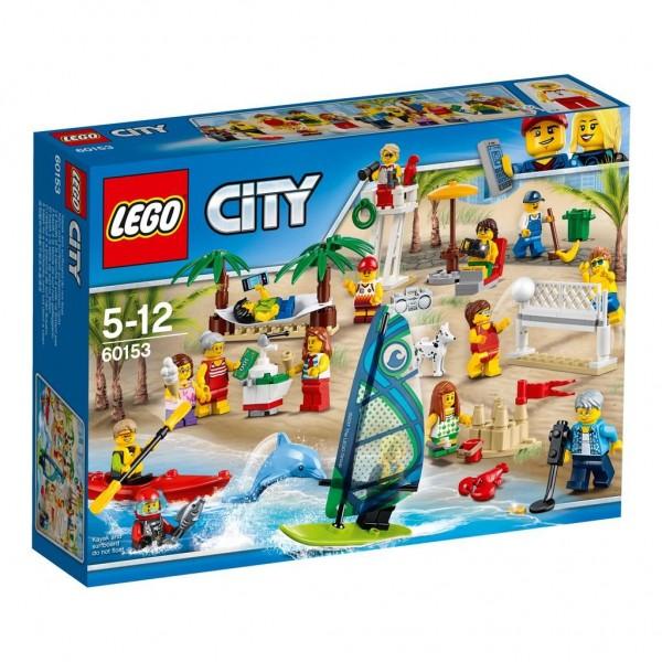 0153 Lego City Personenset Plezier Aan Het Strand