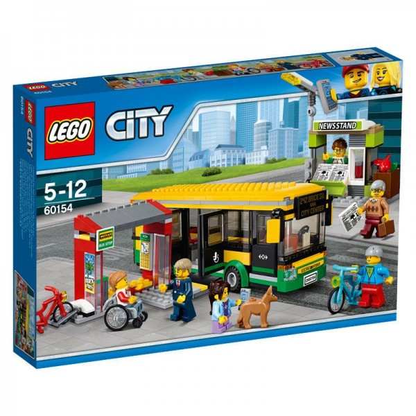 60154 Lego City Busstation