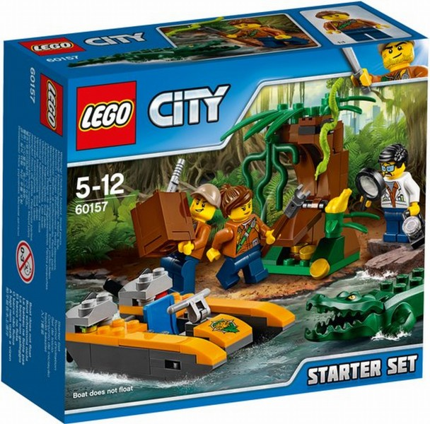 60157 Lego City Jungle Starterset