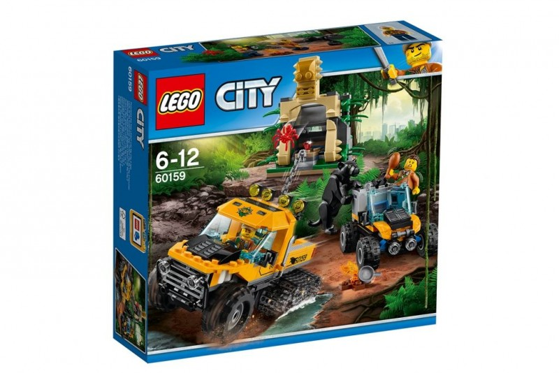 60159 Lego City Jungle Missie Met Halfrupsvoertuig