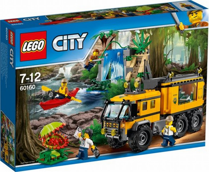60160 Lego City Jungle Mobiel Laboratorium
