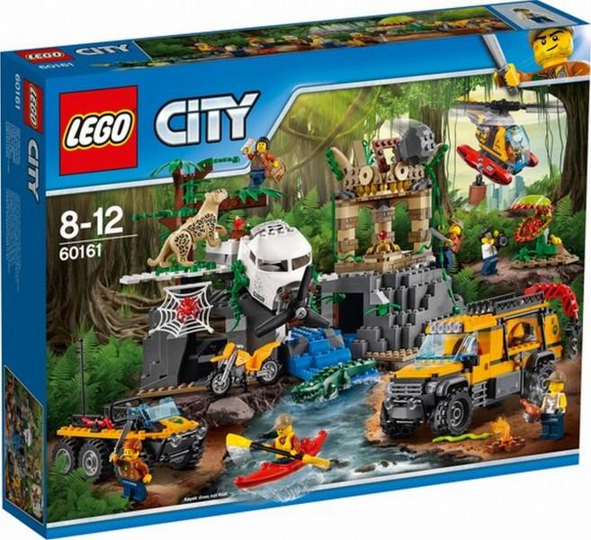 60161 Lego City Jungle Onderzoek