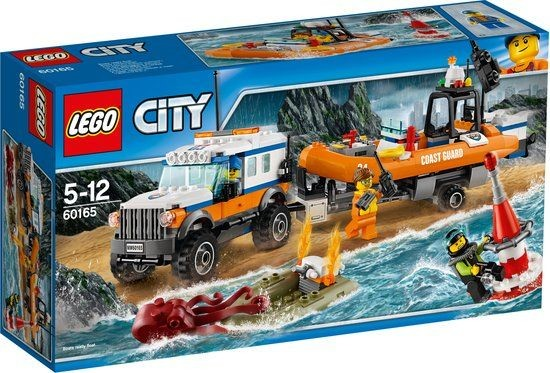 60165 Lego City 4x4 Reddingsvoertuig